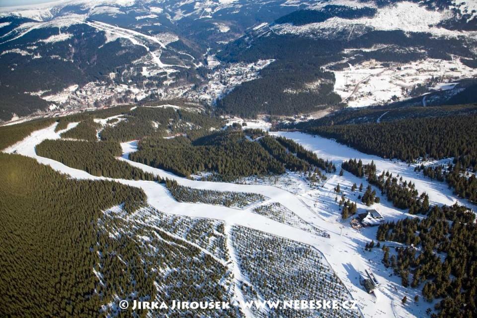 Přední planina a Špindlerův Mlýn /J593