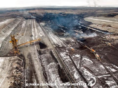 Albertov, Sokolovská uhelná, povrchový důl Jiří /J156