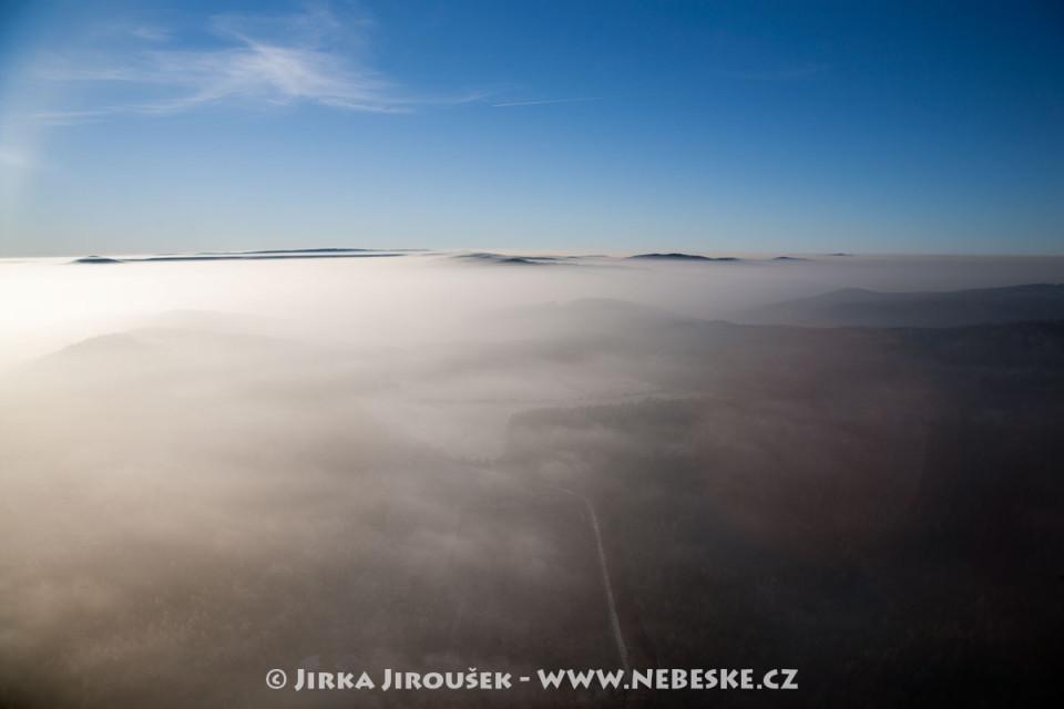 Vrcholky Brd od Pičína /J281