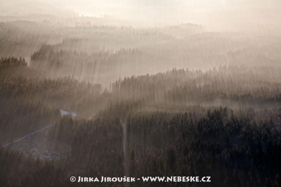 Křižovatka Na Hlíně u Valdeku /J289