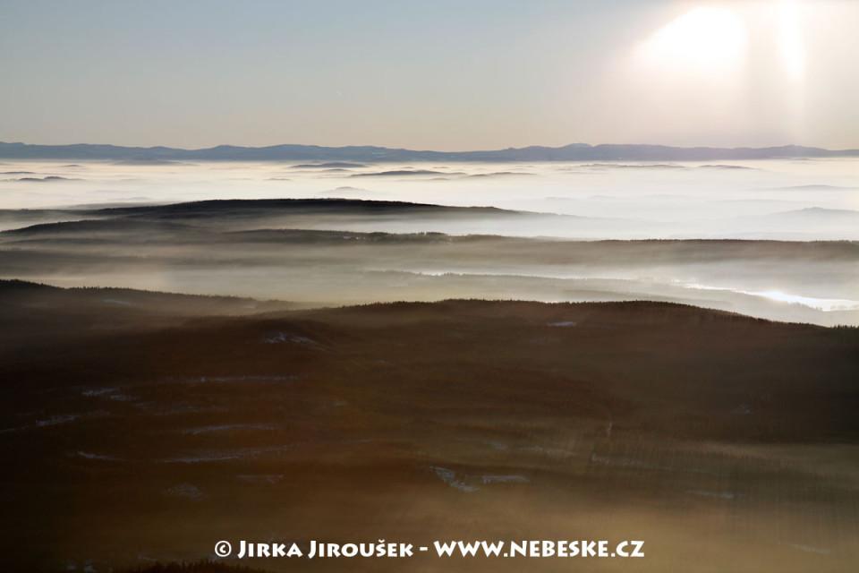 Padrť a na horizontu Šumava /J301