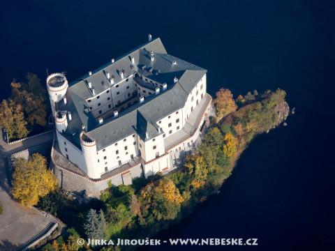 Podzimní zámek Orlík