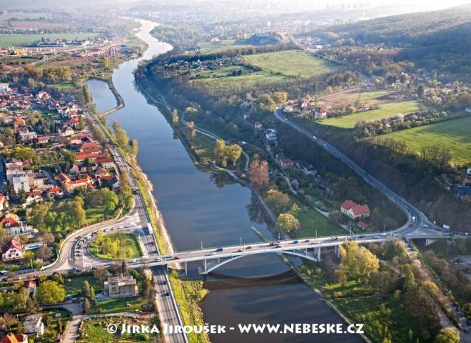 Zbraslav – most Závodu míru /J685