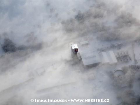 Mědeněc – důl v mlze /J1108