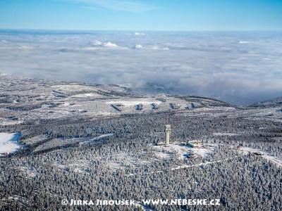Klínovec – vrchol od jihu /J1100
