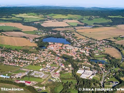 Rožmitál pod Třemšínem – letní panorama /J1137