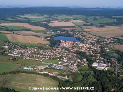 Rožmitál pod Třemšínem – z výšky /J1150