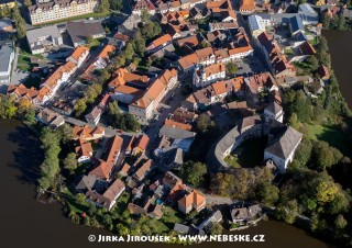Rožmitál pod Třemšínem – náměstí a záme /J1144