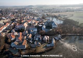Rožmitál pod Třemšínem – v zimě bez sněhu /J1145
