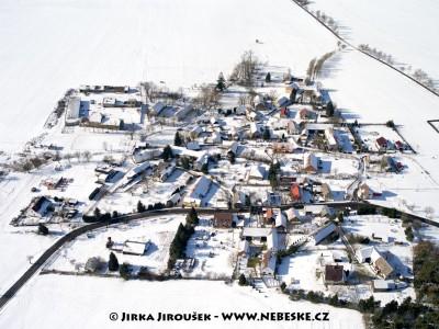 Modřovice  v zimě /J1158