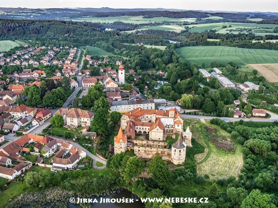 Červená Řečice – zámek a okolí /J1167