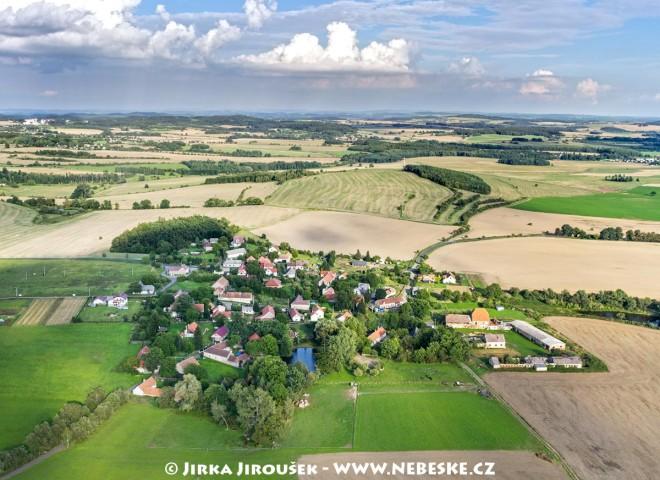 Modřovice v létě /J1161