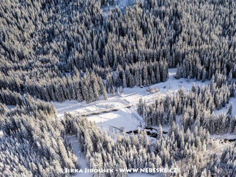 Hradlový most – Modravsko