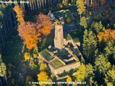 Humpolec – zřicenina Orlík /J1219