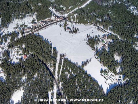 Špičácké sedlo v zimě J1322