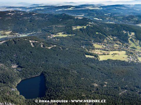 Čertovo jezero a Špičák