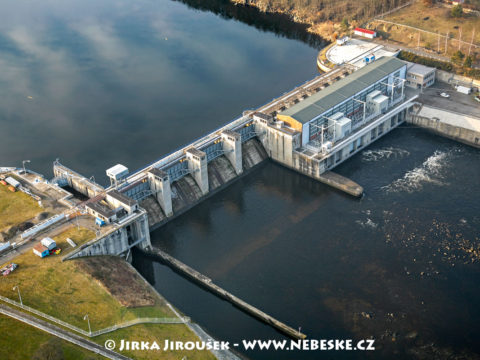 Kamýk nad Vltavou – přehrada
