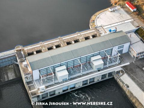 Kamýk nad Vltavou – elektrárna na přehradě /J1252