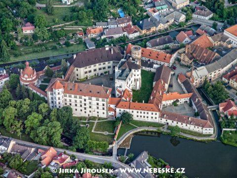 Jindřichův Hradec – zámek a hrad /J1222