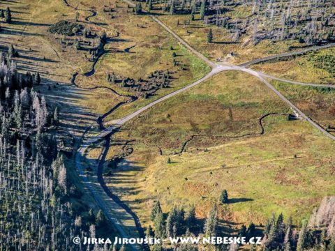 Březnické údolí se soutokem Luzenského a Březnického potoka