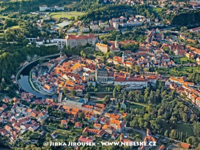 Český Krumlov – Vltava, historické centrum /J1197