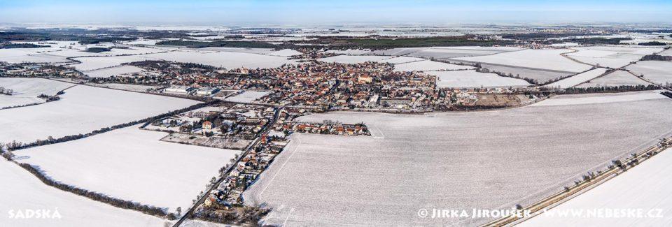 Sadská – panorama J1374