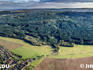 Brdy – panorama od severozápadu J1358