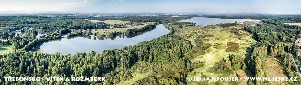 Rybníky Vítek a Rožmberk J1405