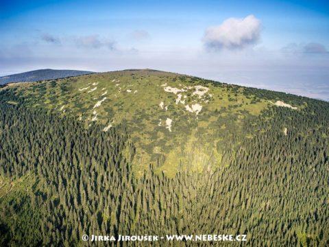 Králický Sněžník – vrchol v létě J1410