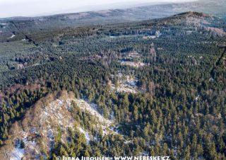 Třemšín a Hengst v zimě J1441