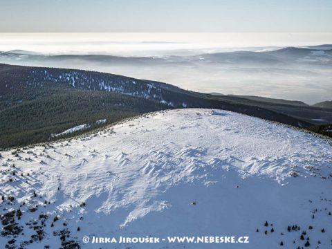 Králický Sněžník – zimní vrchol J1420