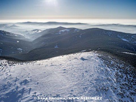 Králický Sněžník – zasněžený vrchol J1421