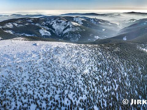 Králický Sněžník – zimní panorama J1409