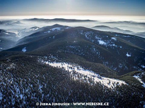 """Králický Sněžník – Schronisko """"Na Śnieżniku"""", polská bouda J1422"""