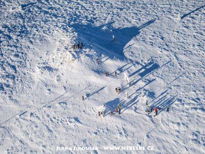 Králický Sněžník – detail zimního vrcholu J1424