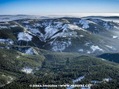 Králický Sněžník – vpravo Stezka v oblacích J1427