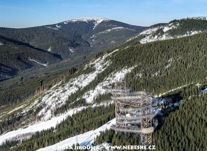 Králický Sněžník a Stezka v oblacích J1433