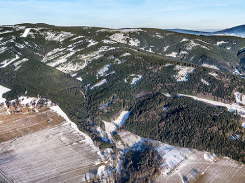 Králický Sněžník – Dolní Morava – panorama J1435