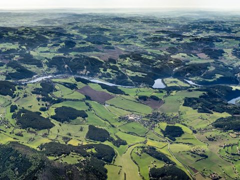 Panorama Vltavy Slapy – Kamýk – Orlík J1507