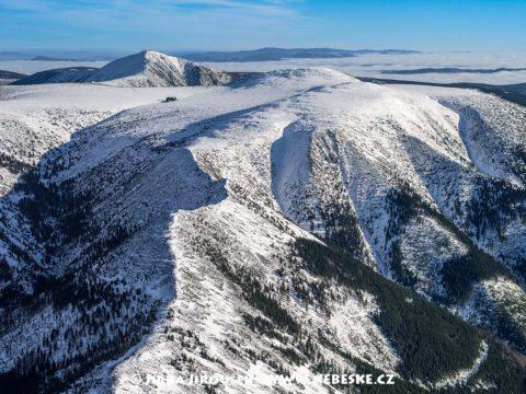 Krkonoše – Kozí hřbety zimní J1490