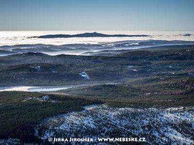 Jizerské hory a Ještěd přes Souš zimní J1508