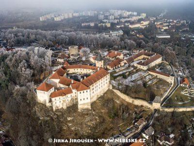Vimperk – zámek a sídliště J1455