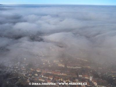 Vimperk – pohled přes zámek na sever J1458
