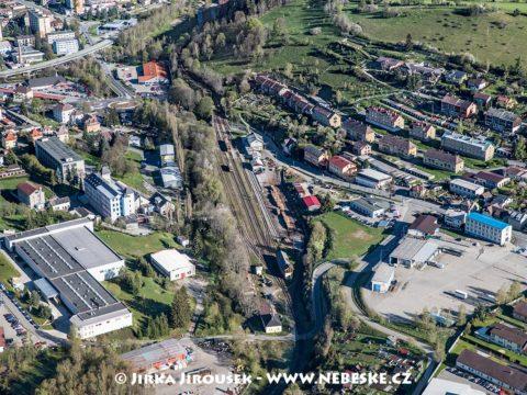 Vimperk – vlakové nádraží J1462