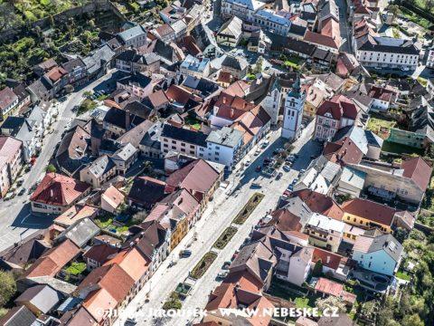 Vimperk – hlavní náměstí J1475