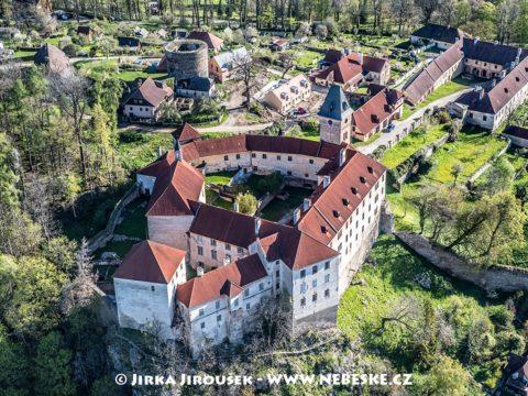 Vimperk – zámek detailně J1476