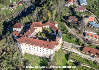 Vimperk – detail zámku J1477