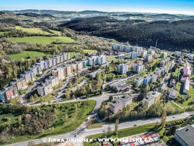Vimperk – sídliště na jaře J1480