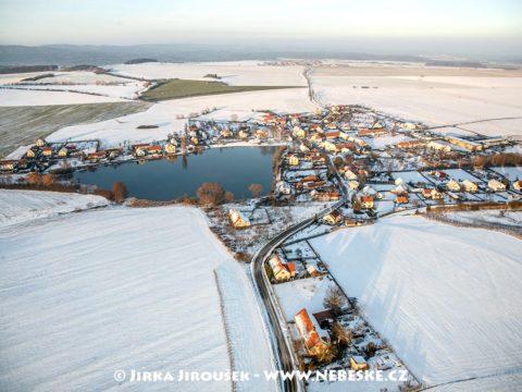 Kotenčice v zimě J1501