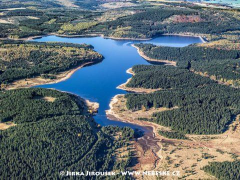 Vodní nádrž Přísečnice – Krušné hory J1523